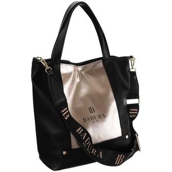 Torbice Ženske Ročne torbice Badura TD204CZZLCD30864 Črna, Zlata
