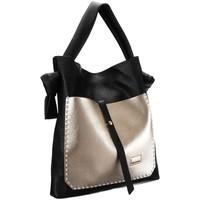 Torbice Ženske Ročne torbice Badura 105080 Črna, Zlata
