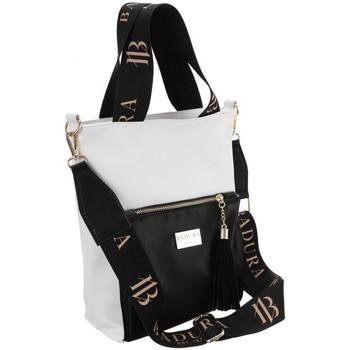 Torbice Ženske Ročne torbice Badura 104020 Bela, Črna