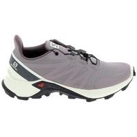Čevlji  Tek & Trail Salomon Supercross 5 Parme Bež