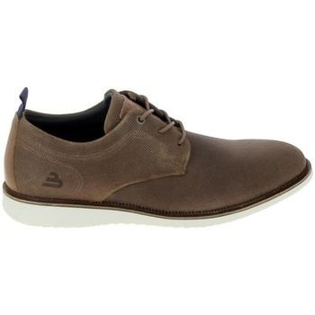 Čevlji  Moški Čevlji Derby & Čevlji Richelieu Bullboxer Sneaker 905AP3CO Cognac Bež