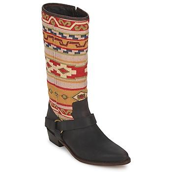 Čevlji  Ženske Mestni škornji    Sancho Boots CROSTA TIBUR GAVA Kostanjevo-rdeča