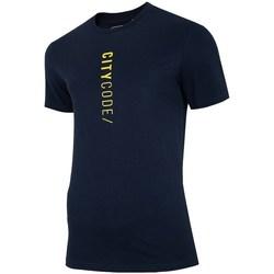 Oblačila Moški Majice s kratkimi rokavi 4F TSM016 Črna