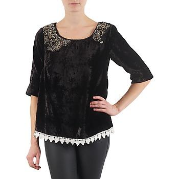 Oblačila Ženske Majice z dolgimi rokavi Lollipops PILOW TOP Črna