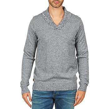 Oblačila Moški Puloverji Kulte PULL CHARLES 101823 BLEU Modra