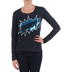 Oblačila Ženske Majice z dolgimi rokavi Brigitte Bardot BB43130 Modra
