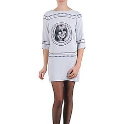 Oblačila Ženske Kratke obleke Brigitte Bardot BB43121 Siva