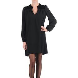 Oblačila Ženske Kratke obleke Brigitte Bardot BB43119 Črna