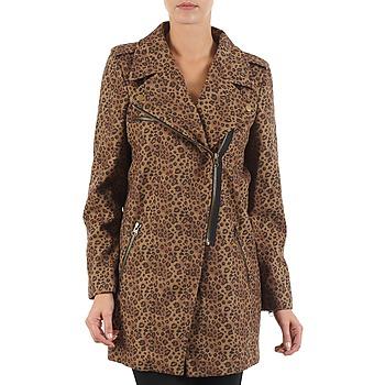Oblačila Ženske Plašči Brigitte Bardot BB43110 Kostanjeva