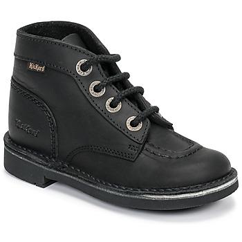 Čevlji  Otroci Polškornji Kickers KICK COL Črna