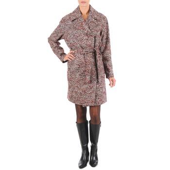 Oblačila Ženske Plašči Lola MORANDI IPERYON Bordo