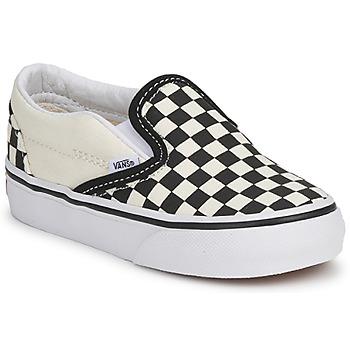 Čevlji  Otroci Slips on Vans CLASSIC SLIP ON KIDS Črna / Bela