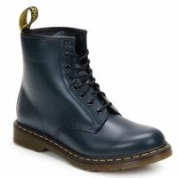 Čevlji  Gležnjarji Dr Martens 1460 8 EYE BOOT Modra