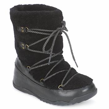 Čevlji  Ženske Škornji za sneg FitFlop SUPERBLIZZ Črna
