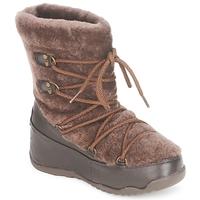 Čevlji  Ženske Škornji za sneg FitFlop SUPERBLIZZ Čokoladna