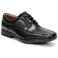 Čevlji  Moški Čevlji Derby Clarks FRANCIS Črna