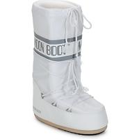 Čevlji  Ženske Škornji za sneg Moon Boot CLASSIC Bela / Srebrna