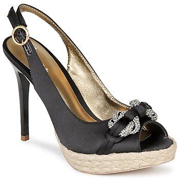Čevlji  Ženske Sandali & Odprti čevlji Bourne VERITY Črna