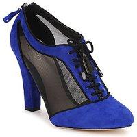 Čevlji  Ženske Nizki škornji Bourne PHEOBE Modrá