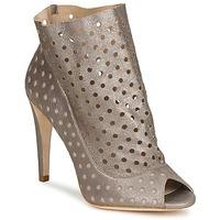 Čevlji  Ženske Gležnjarji Bourne RITA Srebrna