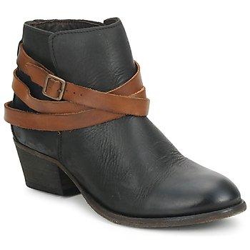 Čevlji  Ženske Gležnjarji Hudson HORRIGAN Črna