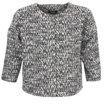 Oblačila Ženske Jakne & Blazerji Mexx MX3002331 Črna / Bela