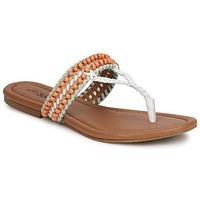 Čevlji  Ženske Sandali & Odprti čevlji Lucky Brand DOLLIS Nude / White
