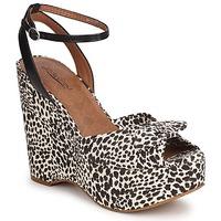 Čevlji  Ženske Sandali & Odprti čevlji Lucky Brand VIERA Črna / White