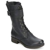 Čevlji  Ženske Mestni škornji    Unisa BLACK Črna
