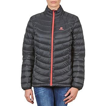 Oblačila Ženske Puhovke Salomon Jacket HALO DOWN JACKET W BLACK Črna