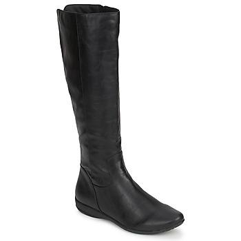 Čevlji  Ženske Mestni škornji    Moony Mood GURLEN Črna