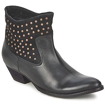 Čevlji  Ženske Gležnjarji Friis & Company DUBAI FLIC Črna