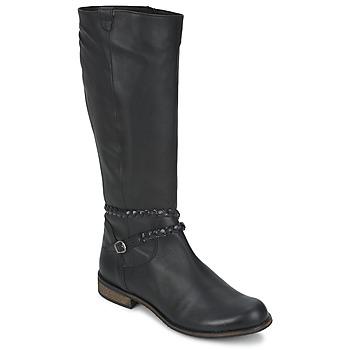Čevlji  Ženske Mestni škornji    So Size BERTOU Črna