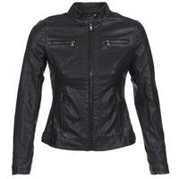 Oblačila Ženske Usnjene jakne & Sintetične jakne Moony Mood DUIR Črna