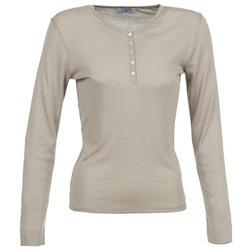 Oblačila Ženske Majice z dolgimi rokavi Casual Attitude DORINE Taupe
