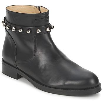 Čevlji  Ženske Polškornji Moschino Cheap & CHIC CA21102MOYCE0000 Črna
