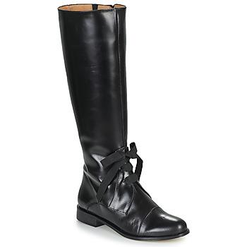 Čevlji  Ženske Mestni škornji    Fericelli MAURA Črna