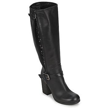 Čevlji  Ženske Mestni škornji    JFK SEMATA Črna