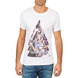 Oblačila Moški Majice s kratkimi rokavi Eleven Paris BERLIN M MEN Bela
