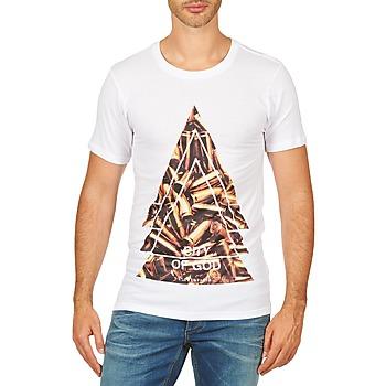 Oblačila Moški Majice s kratkimi rokavi Eleven Paris CITYGOD M MEN Bela