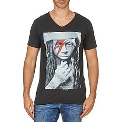 Oblačila Moški Majice s kratkimi rokavi Eleven Paris KAWAY M MEN Črna