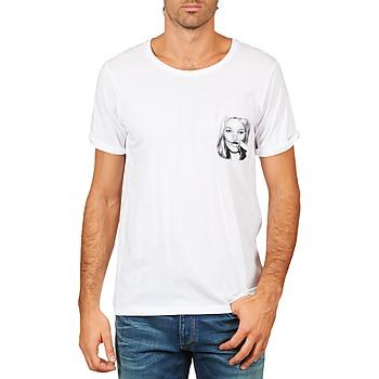 Oblačila Moški Majice s kratkimi rokavi Eleven Paris KMPOCK MEN Bela