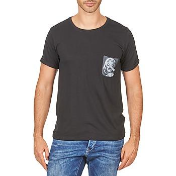 Oblačila Moški Majice s kratkimi rokavi Eleven Paris MARYLINPOCK MEN Črna