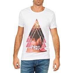 Oblačila Moški Majice s kratkimi rokavi Eleven Paris MIAMI M MEN Bela