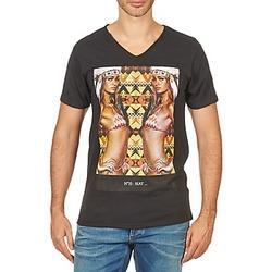 Oblačila Moški Majice s kratkimi rokavi Eleven Paris N35 M MEN Črna
