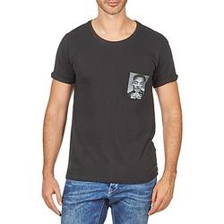 Oblačila Moški Majice s kratkimi rokavi Eleven Paris WOLYPOCK MEN Črna