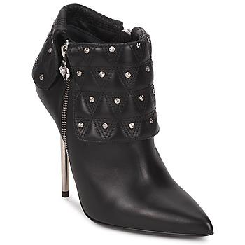 Čevlji  Ženske Gležnjarji Versace DSL894P Črna