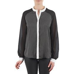 Oblačila Ženske Srajce & Bluze Manoukian RAGANE Črna