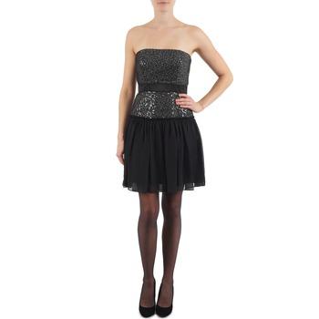 Oblačila Ženske Kratke obleke Manoukian JENNI Črna