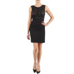 Oblačila Ženske Kratke obleke Manoukian EILEEN Črna